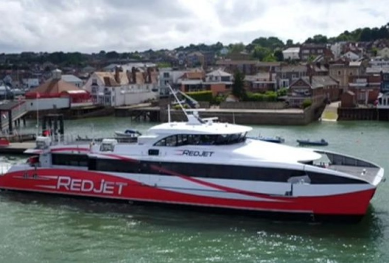 West Cowes Red Jet
