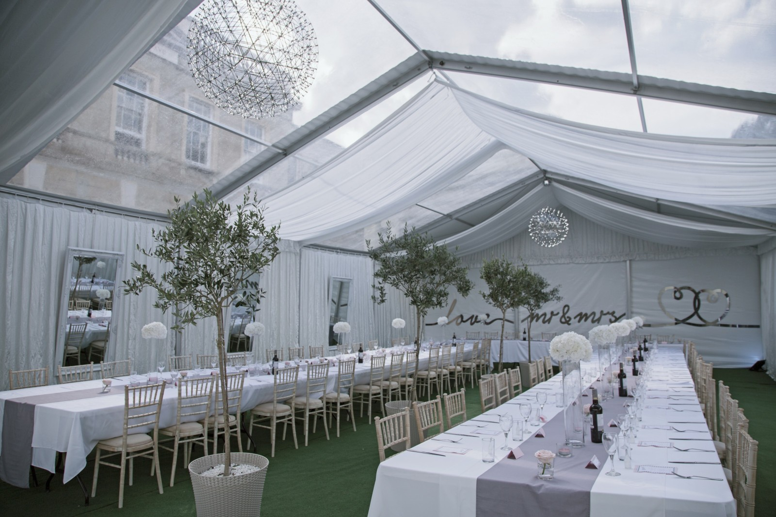 Why Choose Northwood House For A Marquee Wedding