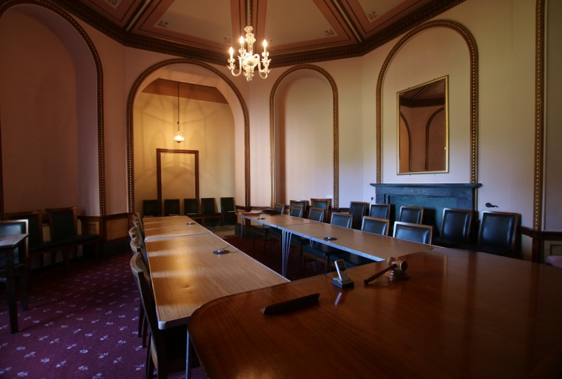 The Library meeting room boardroom style