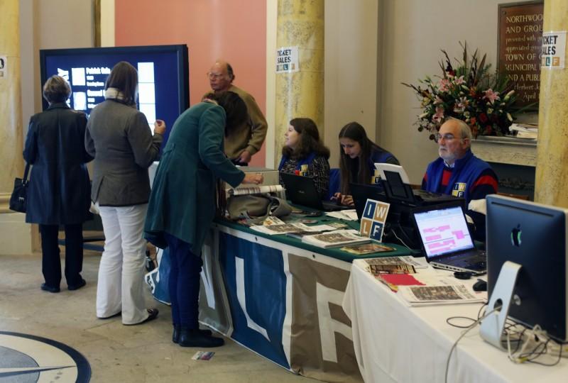 Rotunda as conference registration